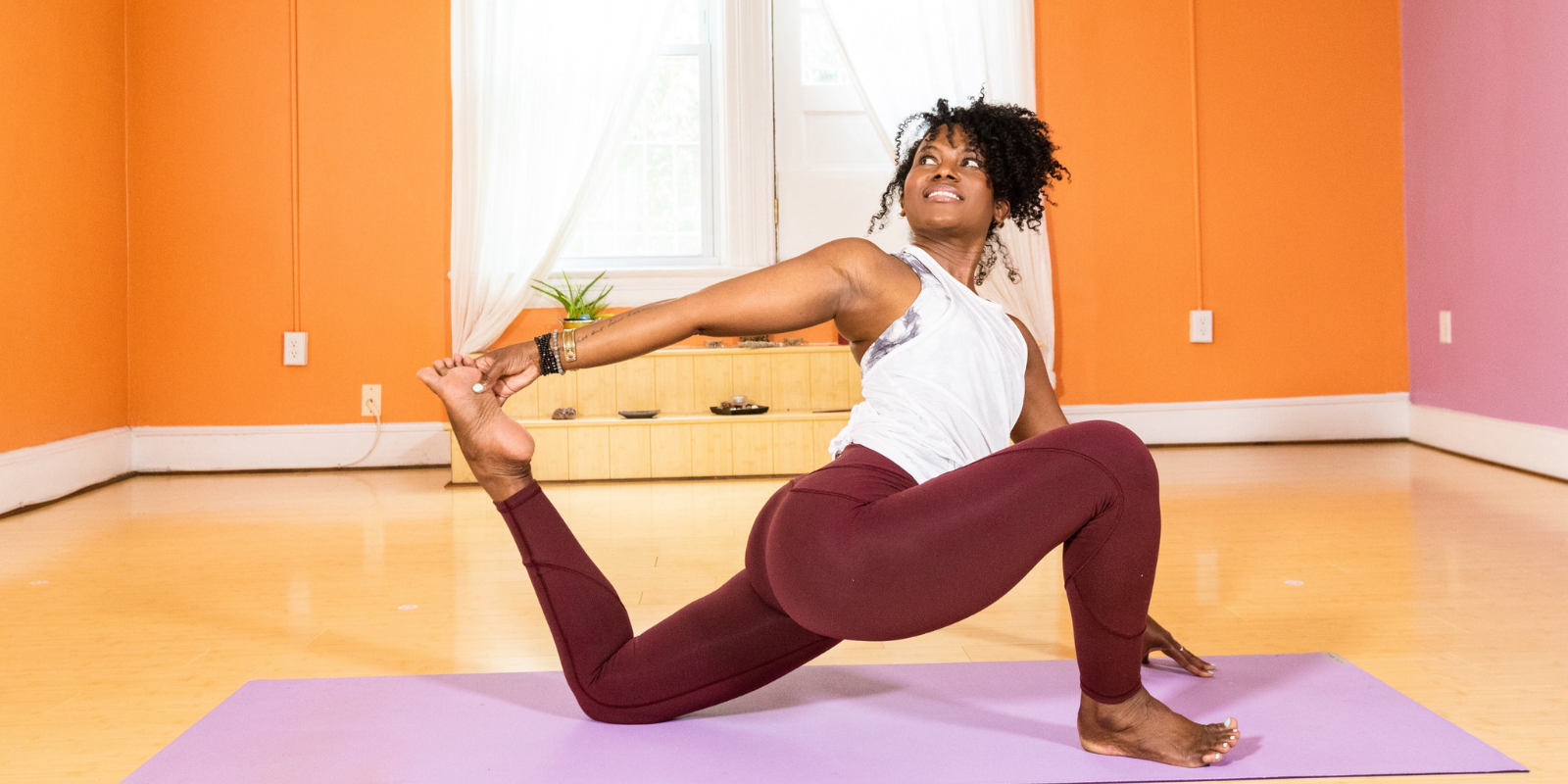 Faith Hunter Yoga Video